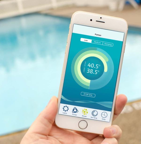 Poolboy app gives you full access to your spa from anywhere