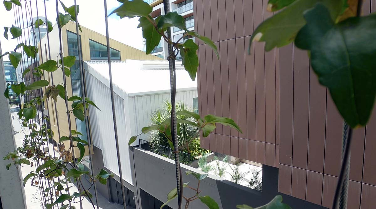 Natural Habitat green wall and roof gardens