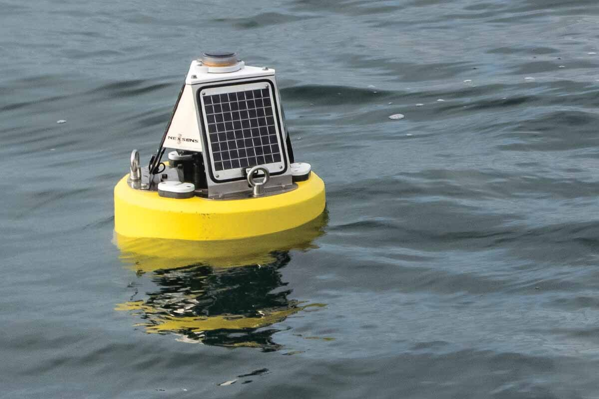Adroit deploys Mussel Farming Data Buoy