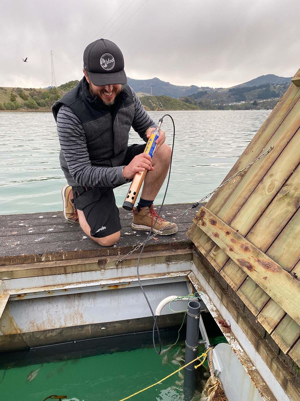 low maintenance water monitoring sensor