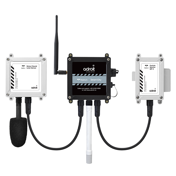 Adroit Air + Dust + Noise Monitoring Kit
