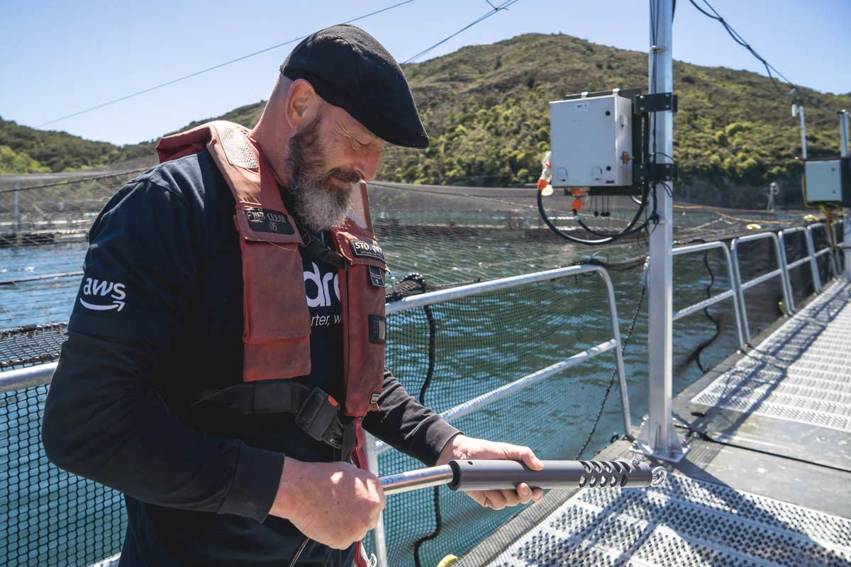 monitoring of water quality can reduce environmental impact
