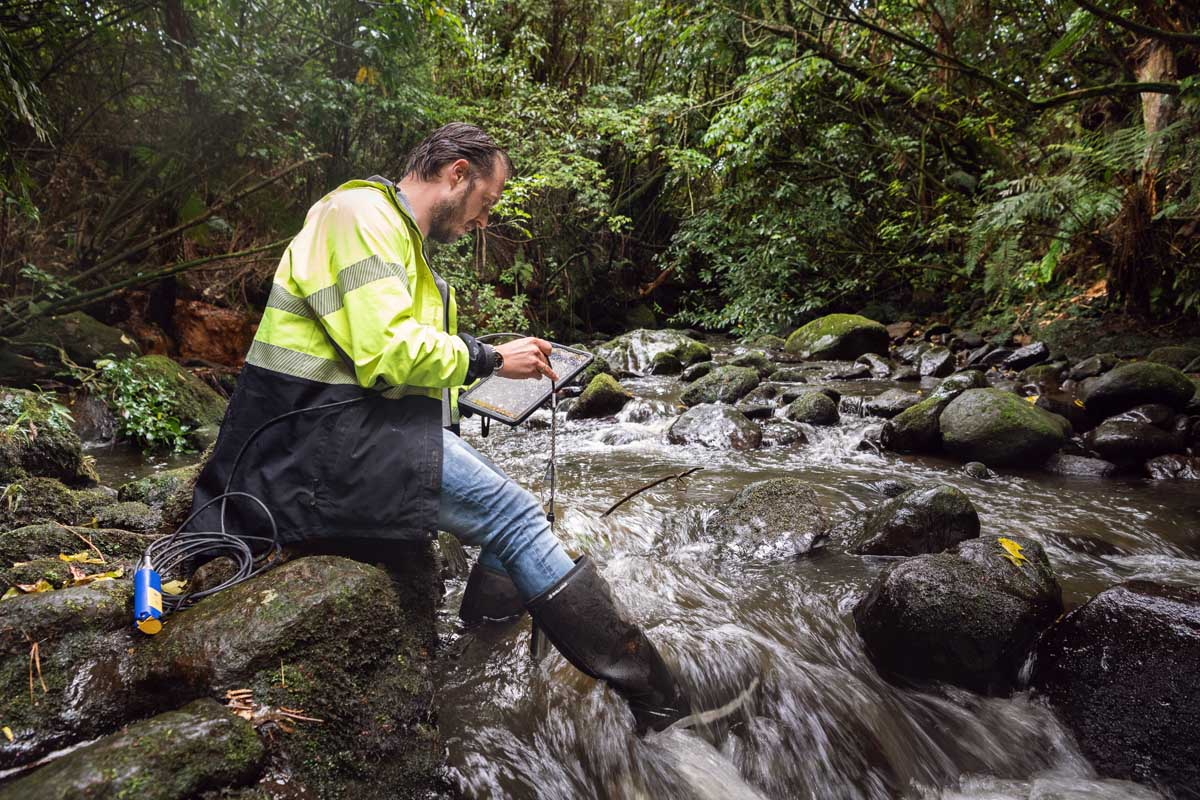 monitoring nitrates level in NZ rivers